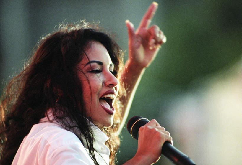 Selena, San Antonio, Teksas, 24.04.1994