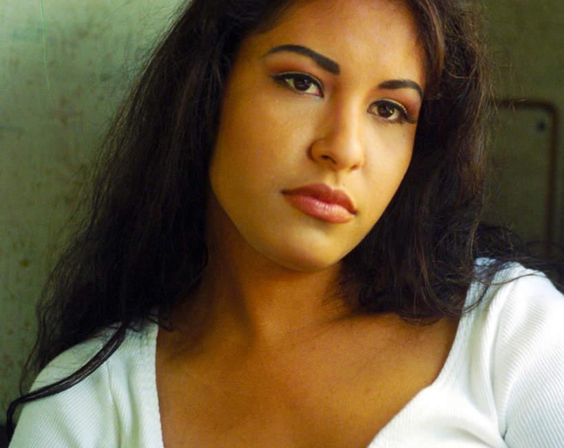 Selena, San Antonio, Teksas, 24.04.1994, backstage