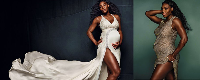 Serena Williams w ciąży, ciąże gwiazd, Serena Williams