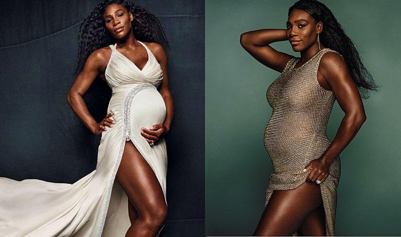 Serena Williams w ciąży, ciąże gwiazd, Serena Williams