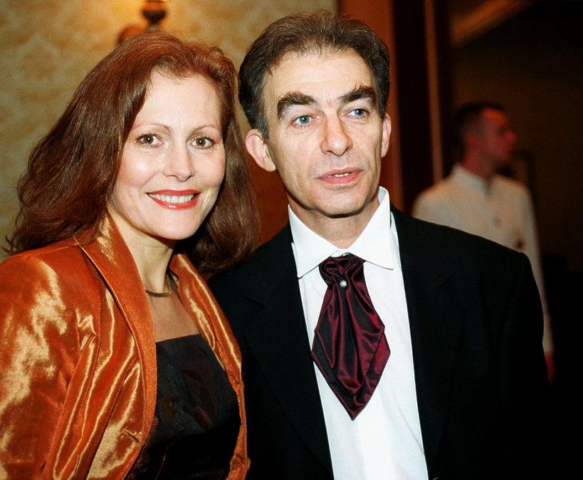 Seweryn Krajewski, Elżbieta Krajewska, listopad 2000