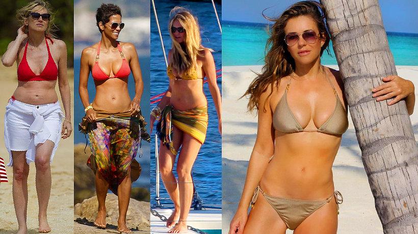 Sharon Stone, Elizabeth Hurley, Cindy Crawford, Halle Berry, Elle Macpherson,