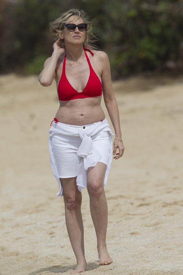 Sharon Stone, seksowne pięćdziesięciolatki