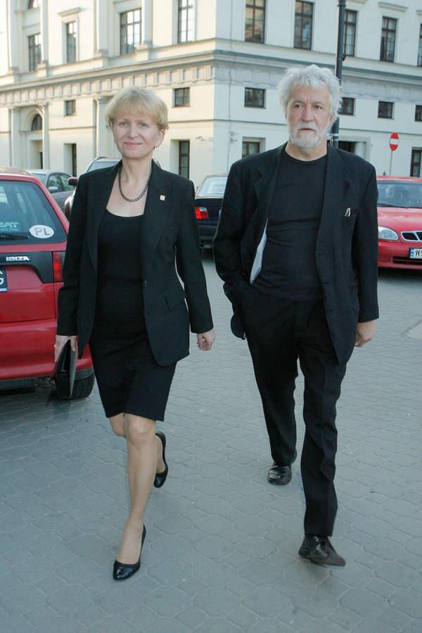 Sławomira Łozińska, Andrzej Makowiecki, Warszawa, 29.05.2010
