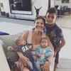 Słodkie rodzinne zdjęcia Cristiano Ronaldo z dziećmi