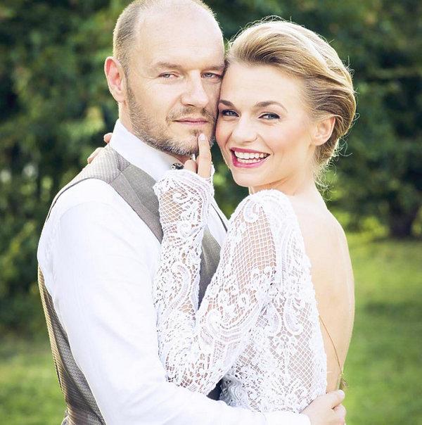 Ślub Emilii Komarnickiej i Redbada Klynstry