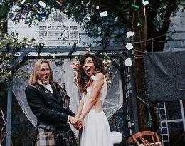ślub Julii Pogrebińskiej, suknia ślubna Julii Pogrebińskiej