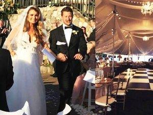 Ślub Marty Krupy, siostry Joanny Krupy: sukienka, goście, wnętrza