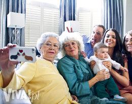brytyjska rodzina królewska robi sobie selfie