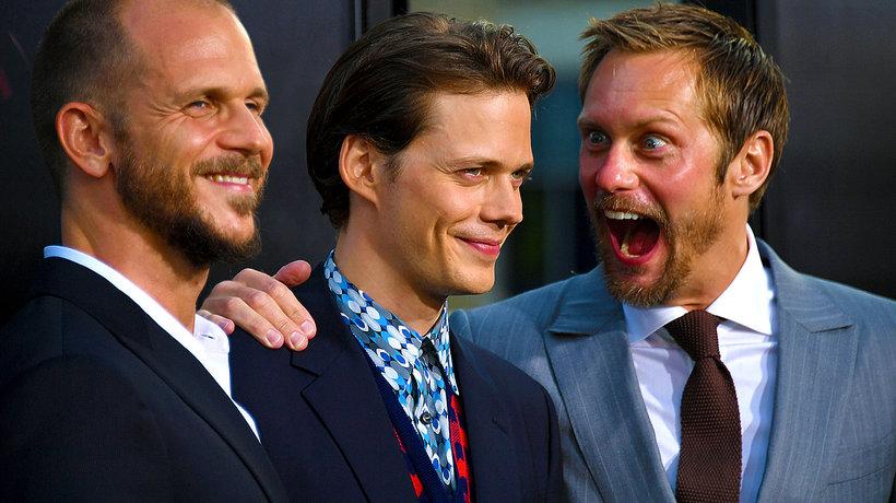 Stellan Skarsgård, Gustaf (ur. 1980), Sam (ur. 1982), Bill (ur. 1990), Valter i Alexander Skarsgård
