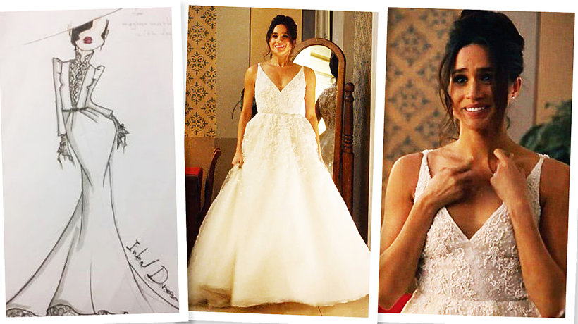 79fc897e57 Suknia ślubna Meghan Markle kopią sukni ślubnej księżnej Kate!