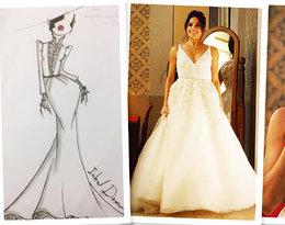Suknia ślubna Meghan Markle z pierwszego małżeństwa ujrzała światło dzienne. To wierna kopia sukni ślubnej księżnej Kate!