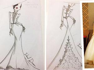 Suknia ślubna Meghan Markle