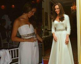 Suknia ślubna Meghan Markle i księżnej Kate