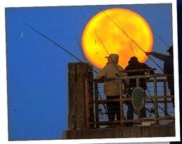 Takiego Księżyca nie widzieliśmy od 68 lat. Zobacz 9 zdjęć, które zapierają dech w piersiach