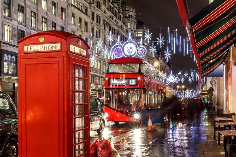 święta ulica w londynie