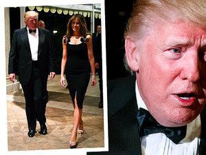 Sylwester u Donalda Trumpa, Donald Trump, Melania Trump, viva.pl