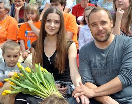 Syn Haliny Mlynkovej i Łukasza Nowickiego, Piotr Nowicki: 10.05.2008 Warszawa Lazienki Krolewskie Festiwal Zaczarowanej Piosenki