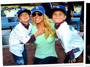 Synowie Britney Spears wyrośli na pięknych chłopców