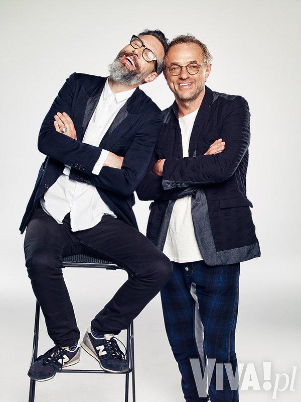Szymon Majewski i Piotr Najsztub
