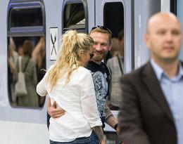Tak całuje się Martyna Wojciechowska i Przemysław Kossakowski