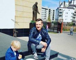 Tak gwiazdy świętują Wielkanoc: Marcin Mroczek z synami