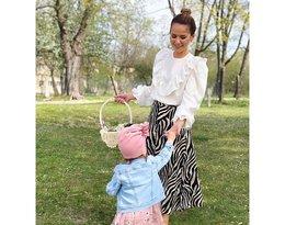Tak gwiazdy świętują Wielkanoc: Paulina Sykut-Jeżyna z córką Różą