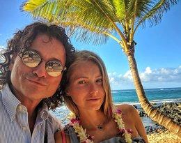 Tak Piotr Rubik z żoną Agatą Rubik Paskudzką i córkami wypoczywa na wakacjach