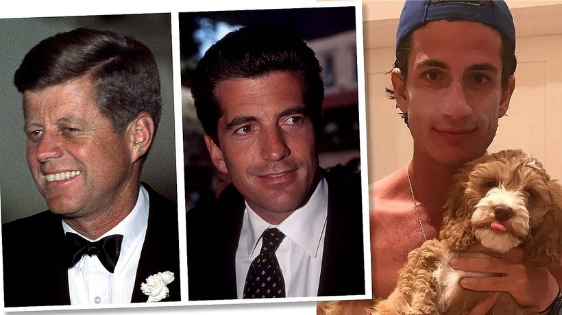 """Tak wygląda wnuk Johna F. Kennedy'ego i Jackie Kennedy, najmłodszy syn Caroline Kennedy, John """"Jack"""" Schlossberg"""