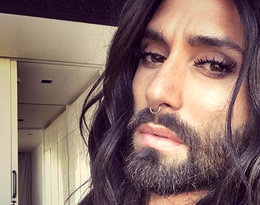 Już nie kobieta z brodą, a... mężczyzna w peruce! Zobaczcie spektakularną metamorfozę Conchity Wurst, najbardziej kontrowersyjnej drag queen świata
