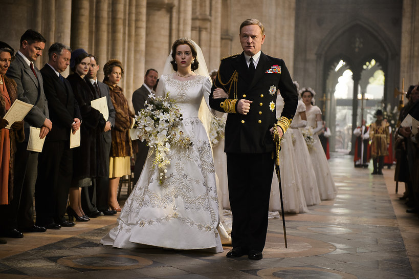 The Crown, serial, Królowa Elżbieta II