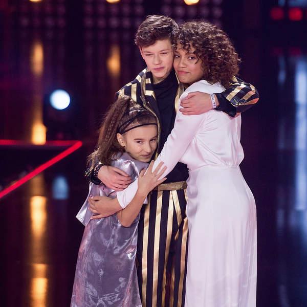 The Voice Kids 4, finaliści. Tatiana Kopala, Olek Klembalski, Sara Egwu-James