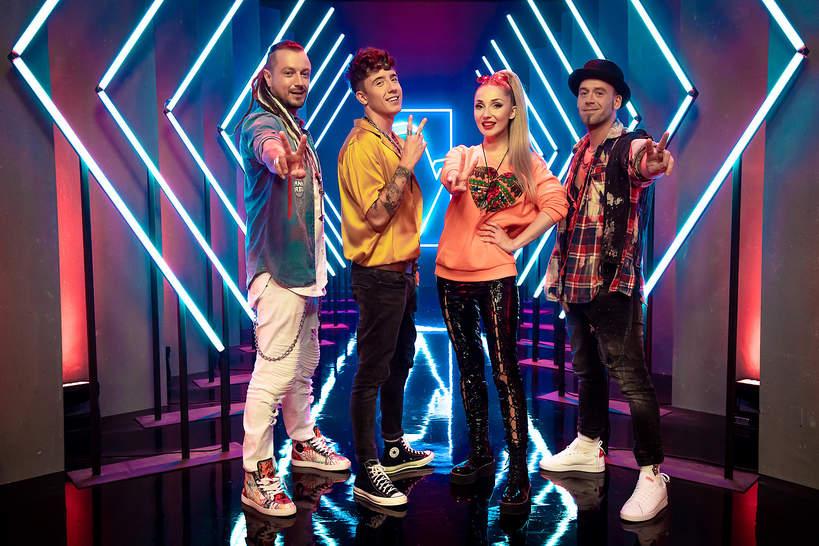 The Voice Kids 4, trenerzy, Cleo, Dawid Kwiatkowski, Tomson, Baron
