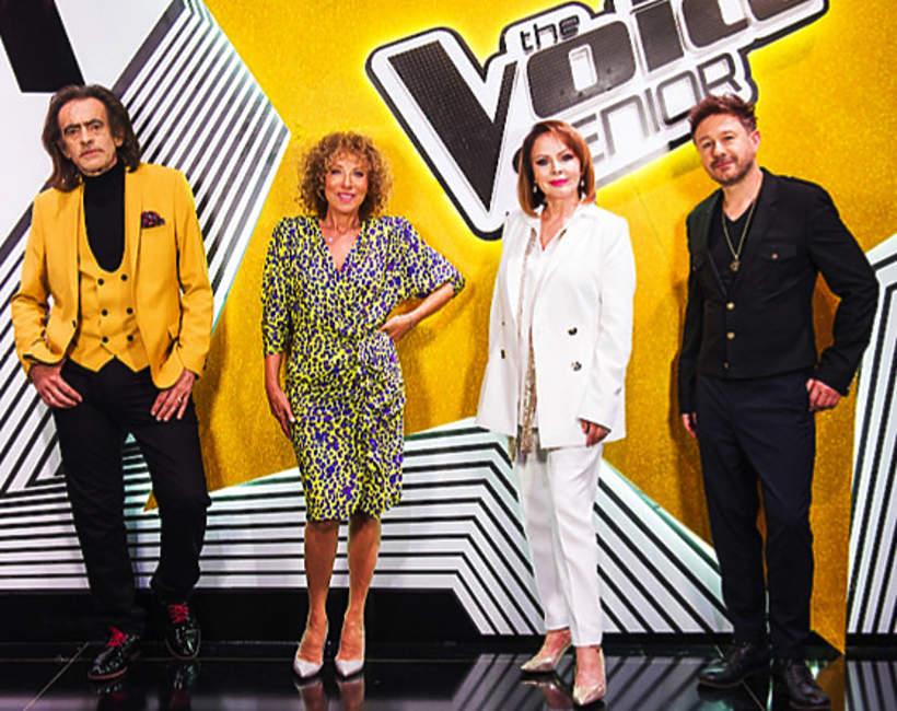 The Voice Senior: Andrzej Piaseczny, Izabela Trojanowska, Alicja Majewska, Witold Paszt
