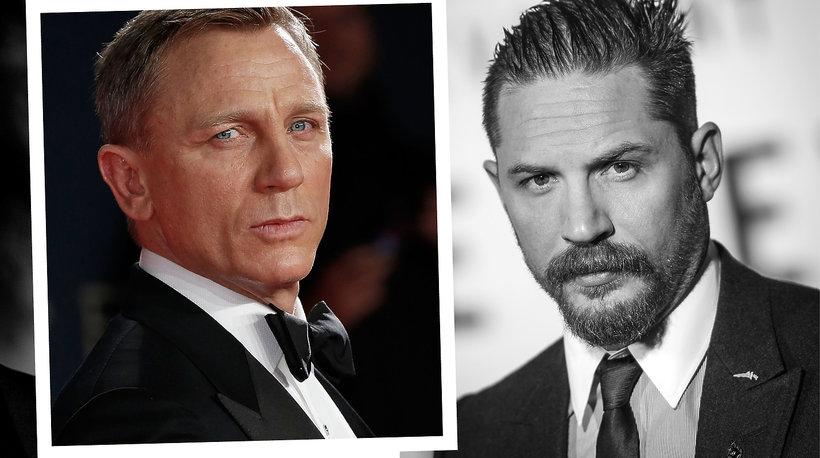 Tom Hardy, Daniel Craig, Tom Hiddlestone