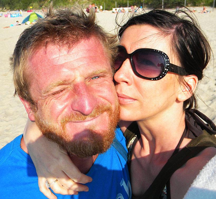 Tomasz Mackiewicz z żoną, Hot News