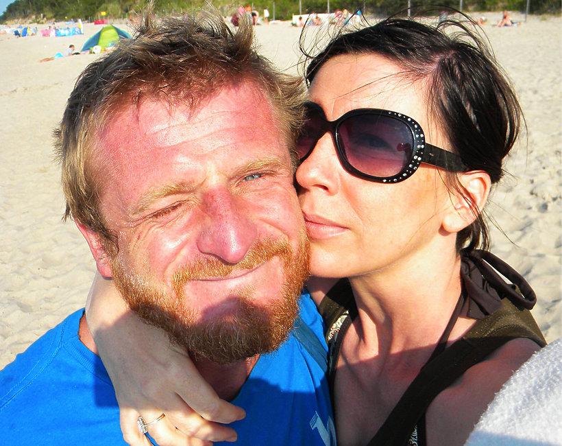 Tomasz Mackiewicz z żoną, News