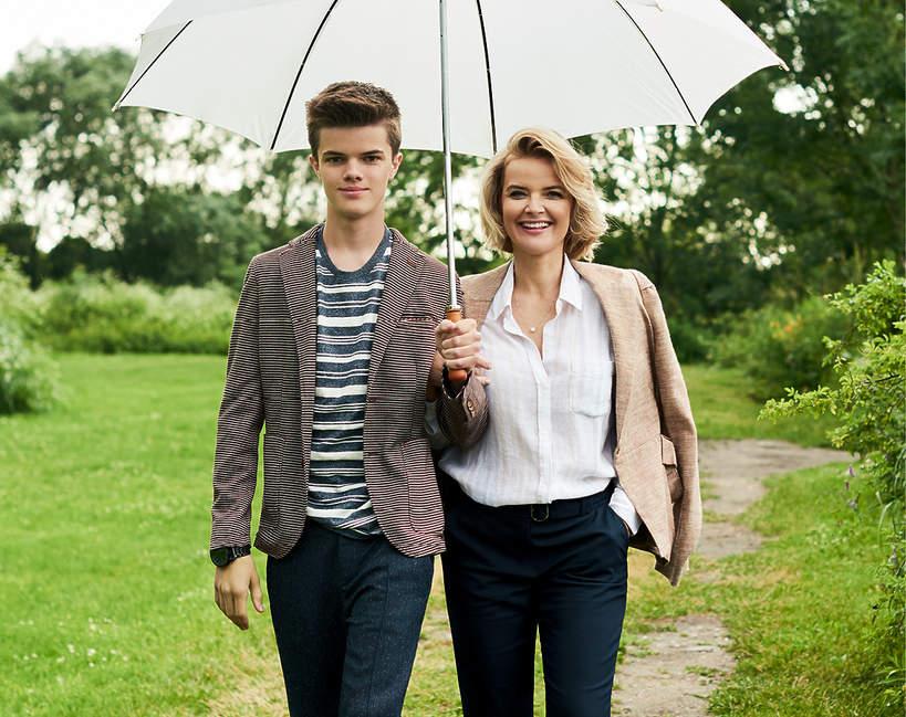 Tomasz Malcolm, Monika Zamachowska, VIVA! sierpień 2017, 17/2017