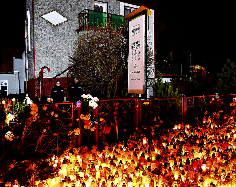 Tragedia w escape roomie w Koszalinie