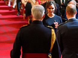 Victoria Beckham, Order Imperium Brytyjskiego