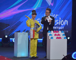 Viki Gabor, Wiktoria Gabor, Mateusz Szymkowiak, Eurowizja Junior 2019, Gliwice, Ceremonia Otwarcia