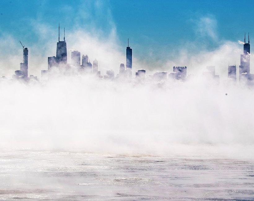 W Chicago jest zimniej niż na Antarktydzie