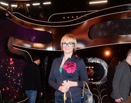 Weronika Marczuk na widowni Tańca z gwiazdami, odcinek 6, 05.04.2019 rok