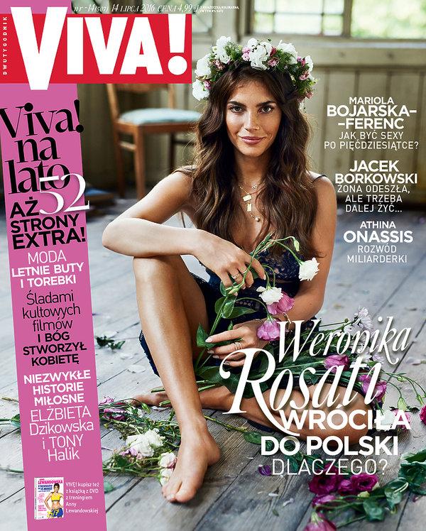 Weronika Rosati na okładce VIVY