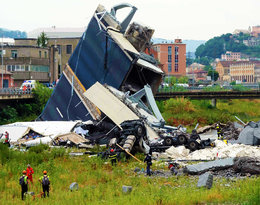 Ogromna tragedia we włoskiej Genui! Trwa akcja ratunkowa