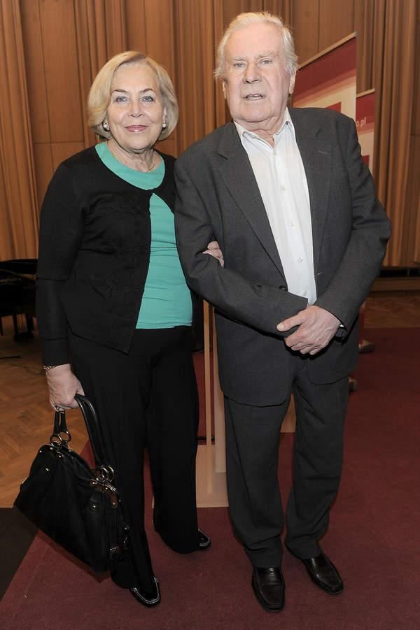 Wiesław Gołas z żoną Marią, 03.12.2012 Wielki Splendor