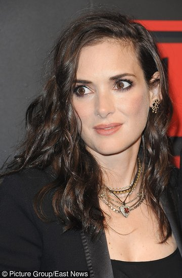 "Winona Ryder na premierze ""Stranger Things"""