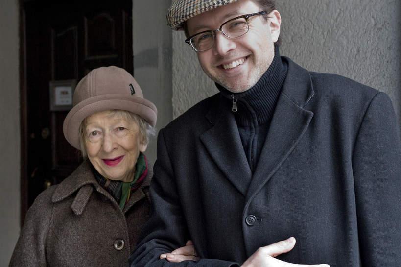 Wisława Szymborska, Michał Rusinek, Kraków, 30.03.2009 rok