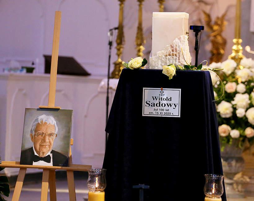 Witold Sadowy, pogrzeb, Warszawa, 15.06.2021 rok