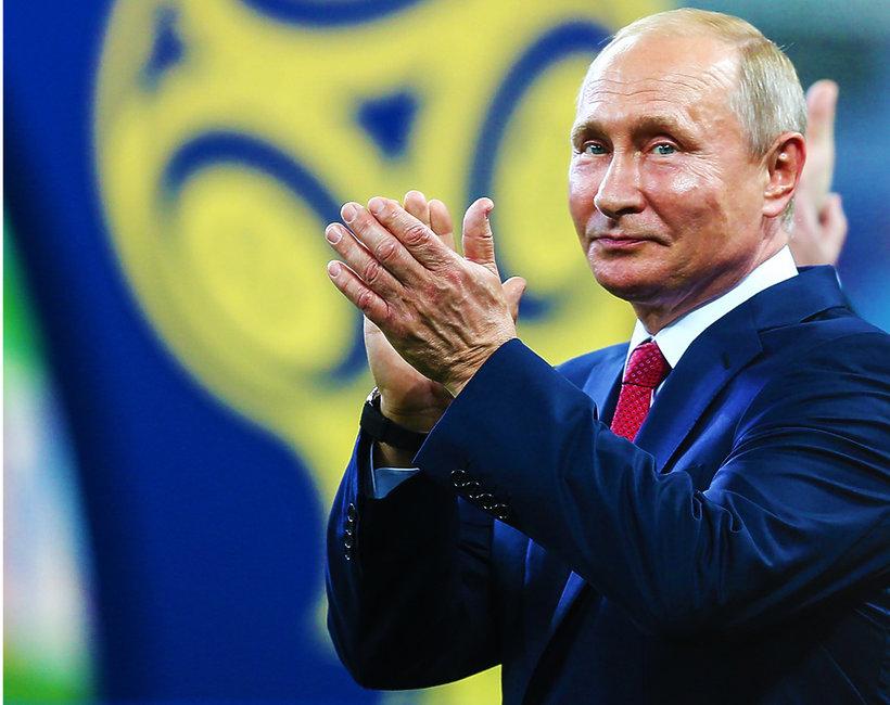Władimir Putin, show z Władimirem Putinem